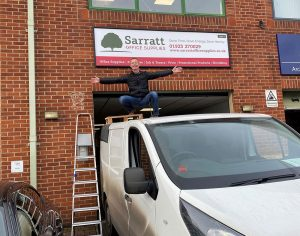 Sarratt re-brand